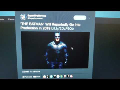 Matt Reeves' Batman Movie Won't Go into Production until 2019