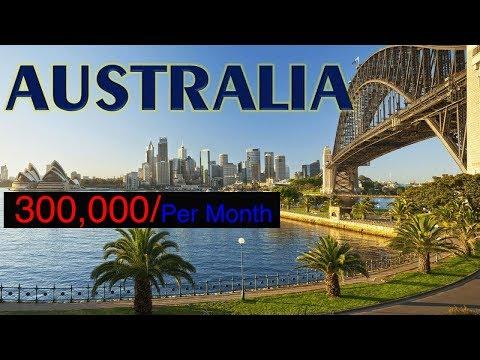 300,000 Per Month  Jobs In Australia