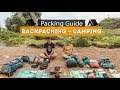 Backpacking + Camping PACKING GUIDE | Tips & Essentials!