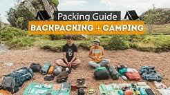 Backpacking + Camping PACKING GUIDE   Tips & Essentials!