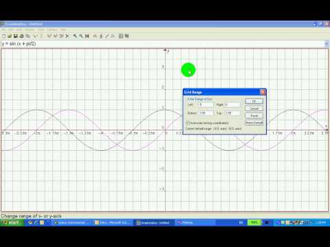 Graphing Trig Functions On Graphmatica