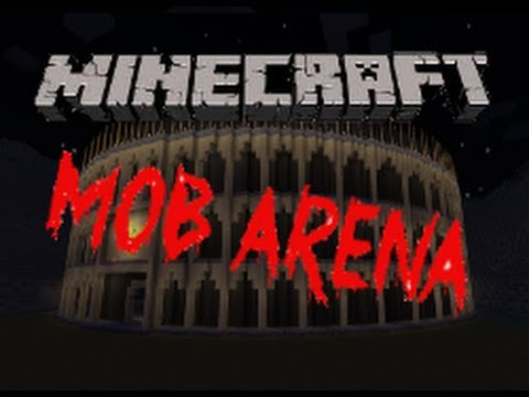 Minecraft Mini-Game: Mob Arena W/ Btgaminh