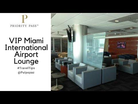 Visita Al Priority Pass VIP Miami International Airport Lounge #TravelTips
