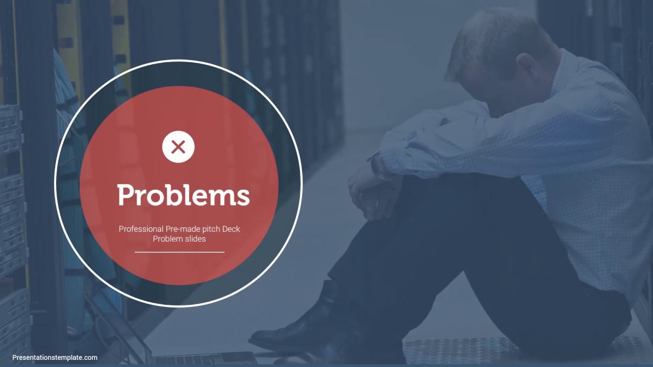 Image result for problem slides pitch deck