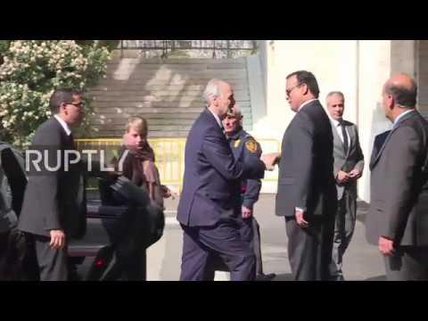 Switzerland: Jaafari arrives at Palais des Nations for Syria peace talks