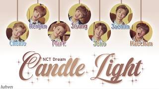 NCT DREAM (엔시티 드림) - 'Candle Light (사랑한단 뜻이야)' LYRICS [HAN|ROM|ENG COLOR CODED] 가사