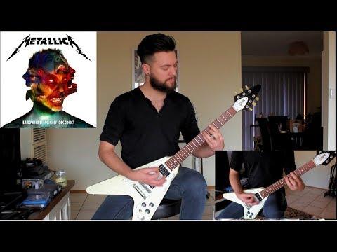 Hardwired - Metallica Guitar Cover - Gibson Flying V