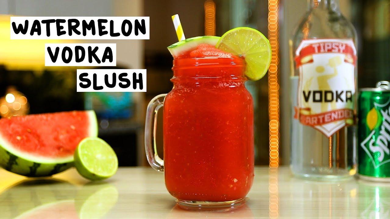 Watermelon Vodka Slush - YouTube