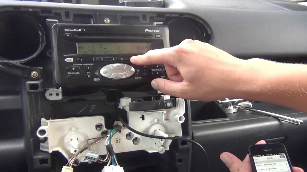 Gta Car Kits Scion Xb 2004 2007 Ipod Iphone And Aux Adapter Audio Wiring Diagram Installation Youtube