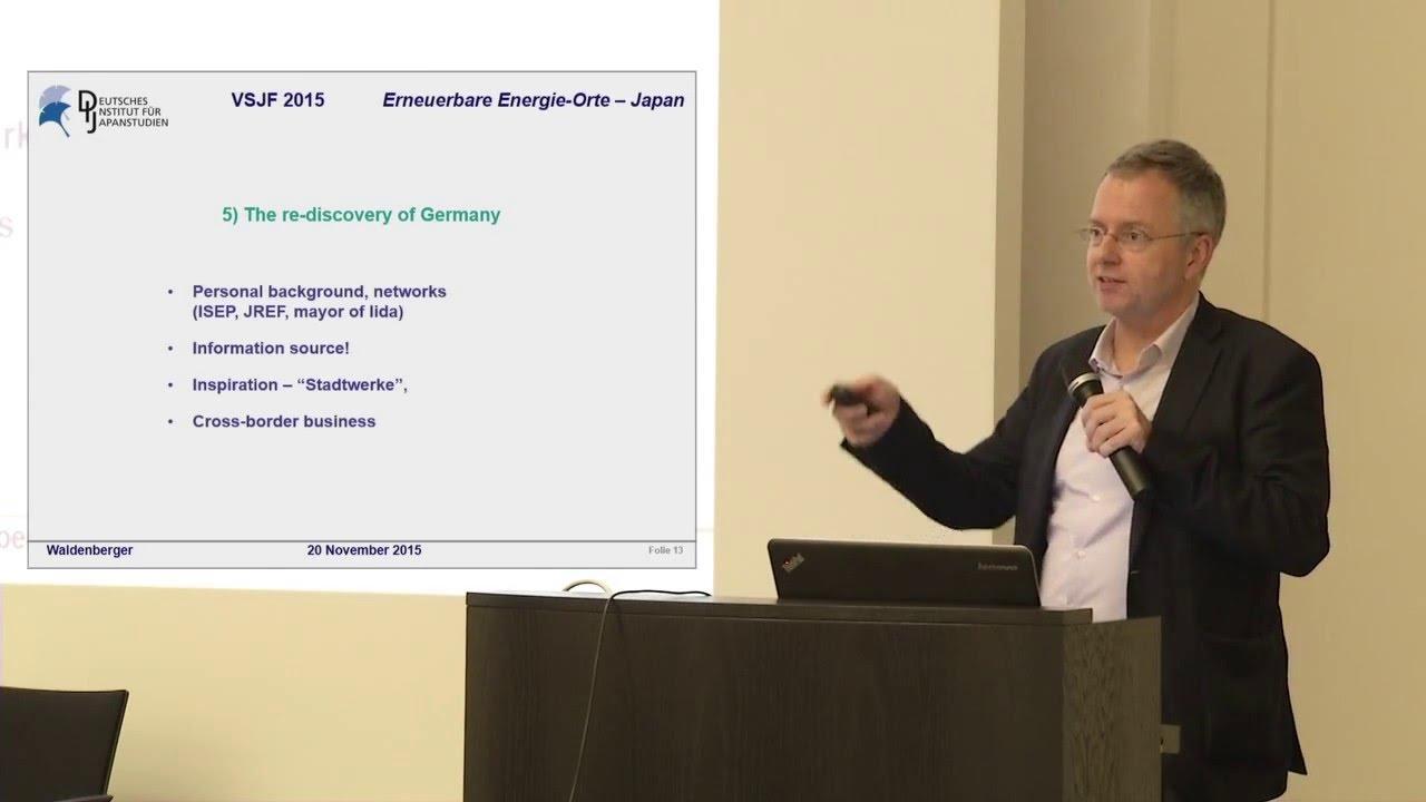 Franz Waldenberger: Lokale Energieprojekte U2013 Beispiele Aus Japan Und  Deutschland (Leipzig 2015)
