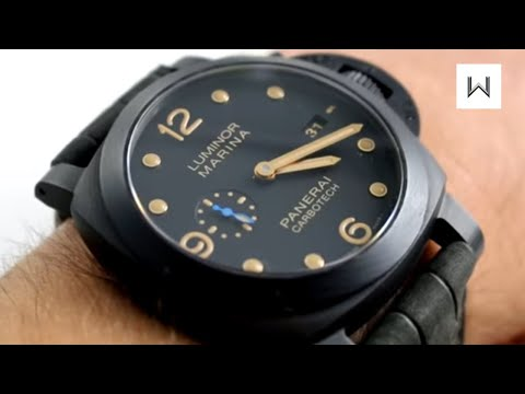 Panerai Luminor 1950 3 Days Automatic Carbotech PAM 661 Watch Review