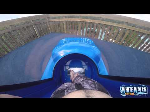 Six Flags White Water Dive Bomber POV with Music
