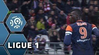 But M'Baye NIANG (69') - Stade de Reims-Montpellier Hérault SC (2-4) - 01/02/14 - (SdR-MHSC)