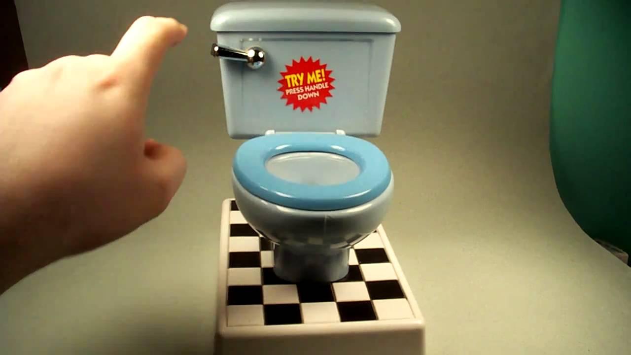 Toy Toilet Flushing Sound : Toilet bank youtube