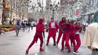 Moscow(Russia) Russian Girls Dancing On The Street   Street Dance Russia   Shabnamfarooq