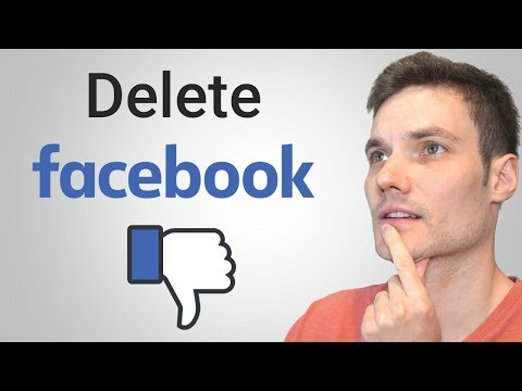 How To Delete Facebook Account On PC Or Mac