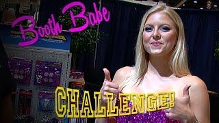 SEMA 2015 Booth Babe Challenge #1 Video V8TV