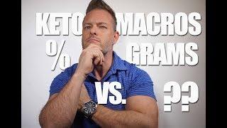 Ketogenic Macros: Grams vs Percentage