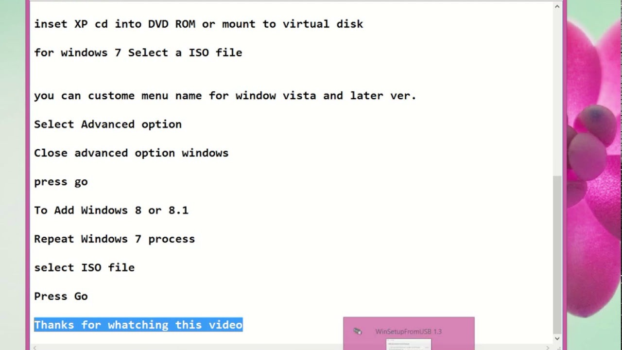 make windows 7 bootable usb from iso linux