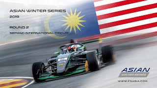 F3 Asian Winter Series Round 2 Malaysia Race 3 Sunday