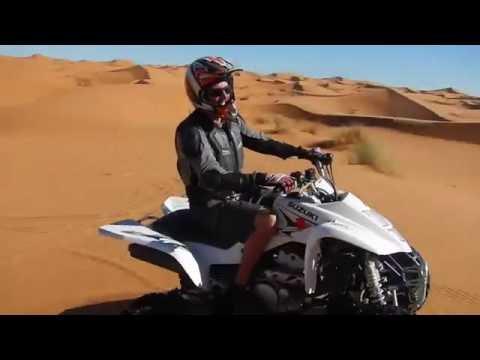 Quad Suzuki 400ccm Merzouga  Desert Erg Chebbi 2016