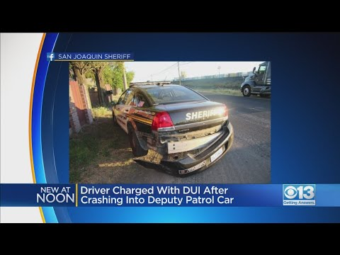 DUI Suspect Crashes Into San Joaquin Co. Deputy's Patrol Car In French Camp