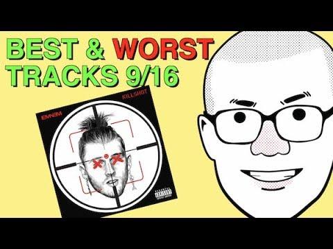Weekly Track Roundup: 9/16 (Eminem's KILLSHOT)