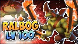 RALBOG (LV 100) COMBATES PVP - Monster Legends Review