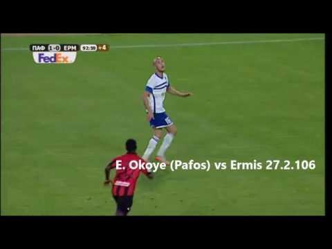 Cyprus 1st Division Top-10 Goals 2015-16 season