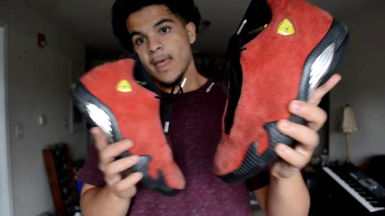 Jordans? Red Angelus Suede Dye review
