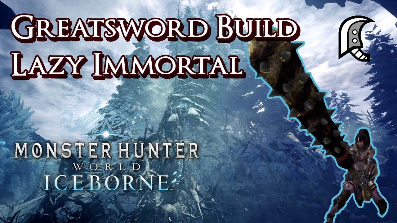 monster hunter world iceborne safijiiva greatsword build