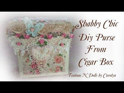 Lets Get Organized DIY Cigar Box Purse Process Episode #2