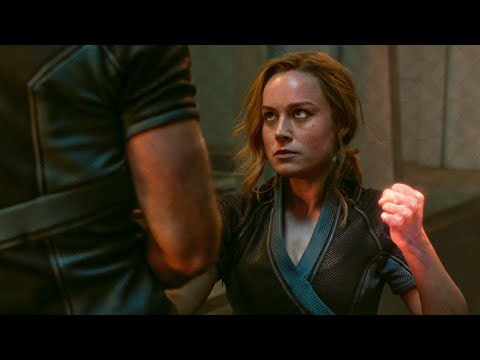 Yon-Rogg and Carol Training Fight Scene - CAPTAIN MARVEL (2019) Movie Clip