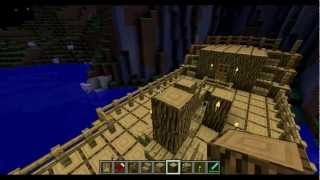 Minecraft how to build a awesome sailing ship!