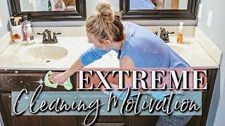 EXTREME BATHROOM DEEP CLEAN 2019--MY BATHROOM CLEANING ROUTINE-KEEP CALM AND CLEAN
