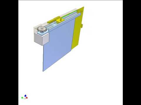 Turning And Telescopic Sliding Door 2a Youtube