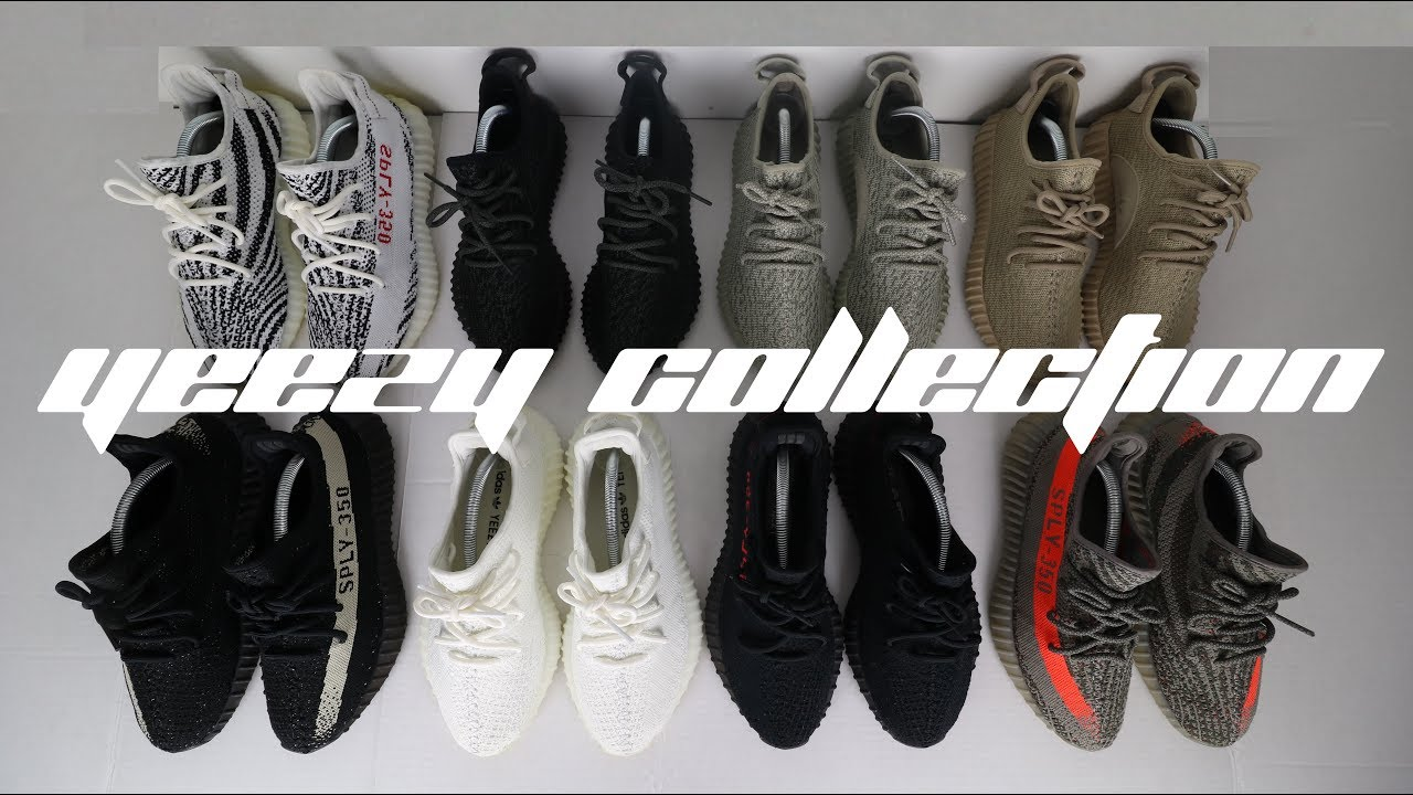 e1830626 MY ENTIRE YEEZY SNEAKER COLLECTION - YouTube
