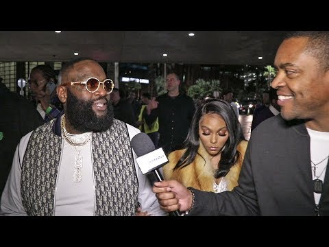 Exclusive RICK ROSS After Deontay Wilder THROWS IN TOWEL Vs Tyson Fury Tech Knockout