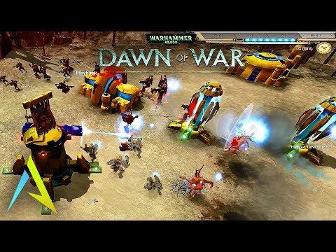 Dawn of War - Soulstorm | Overcome The Pressure [Tau vs. Chaos]