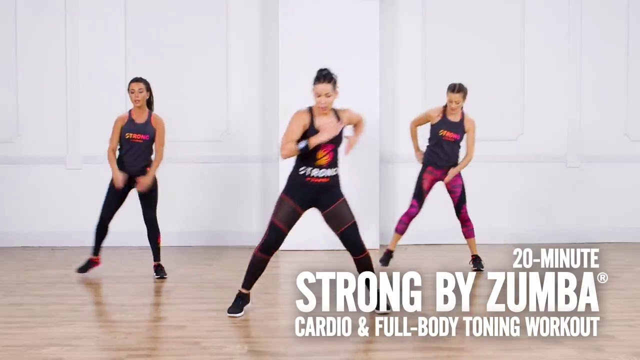 20 Minute Zumba and Full Body Workout - YouTube