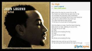 John Legend - So High