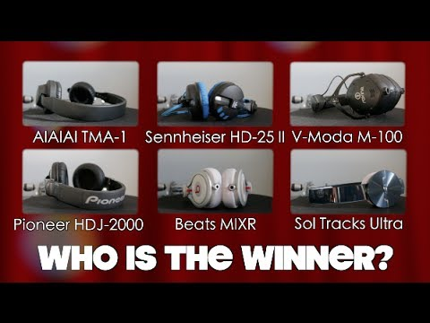 Best DJ Headphone 2014 Edition! Pro DJ Group Review!
