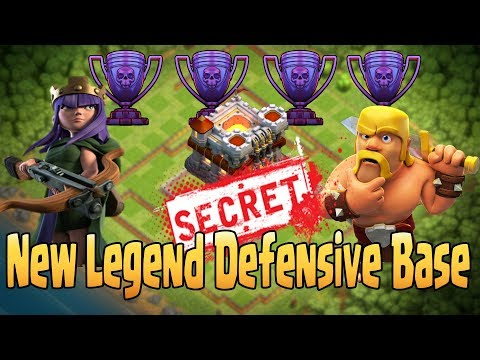 Clash Of Clans | TH11 (MOST SECRET) LEGEND DEFENSE BASE 2017 WITH REPLAY | ANTI 2 STAR BASE