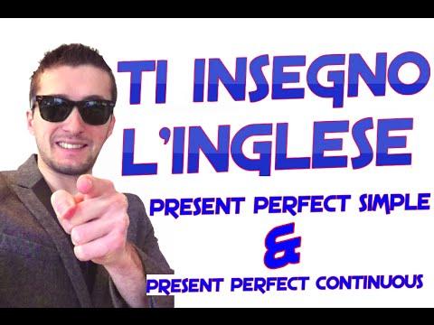 Present perfect continuous grammatica inglese gratis