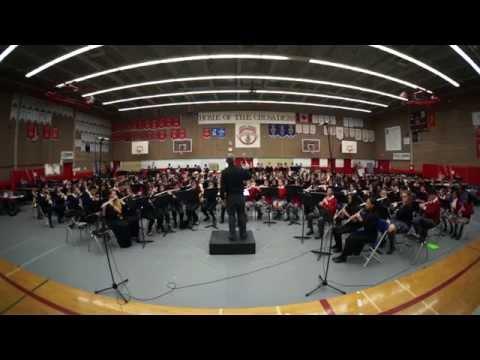 CISVA Junior Band 2015 - Fighting Falcon March