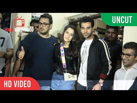 Stree Movie Premiere | FULL VIDEO | Shraddha Kapoor, Rajkummar Rao, Many Bollywood Celebrities