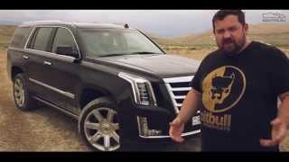 Test Drive by Davidich (with English subs). Cadillac Escalade 6.2 (2015)