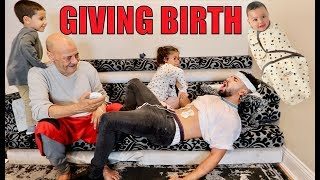 EXPERIENCING THE PAIN OF GIVING BIRTH!! (INSANE)