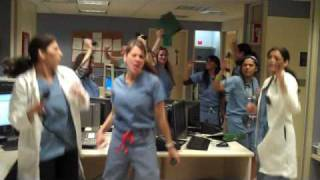 Lady Gaga Telephone Parody in Hospital