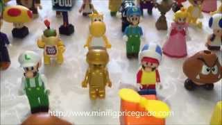 knex mario minifiguures full collection of 90+